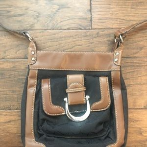 Chaps by Ralph Lauren brown and black bag